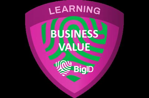 BigID Business Value (Self paced) (( BIGID-S-VALU ))