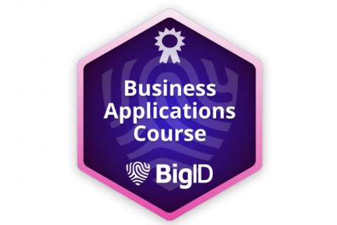 BigID Business Applications (Self paced - Legacy) (BIGID-S-APPS)