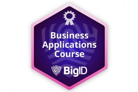 BigID Business Applications (Self paced) ((BIGID-S-APPS))