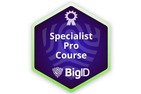 BigID Specialist Pro (Instructor led) (BIGID-E-SPPR)