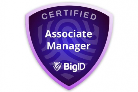 Certified BigID Associate Manager (Certification Exam) (BIGID-B-ADMN)