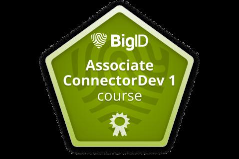 BigID Associate ConnectorDev 1 (Instructor led - co-bc-cndv-a-1) (co-bc-cndv-a-1)
