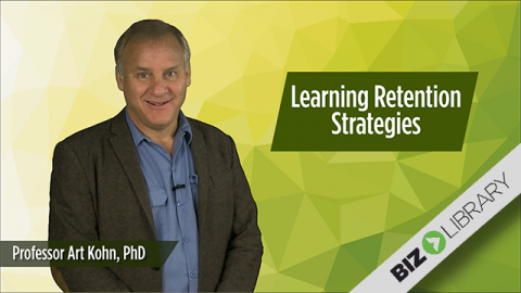 Learning Retention Strategies