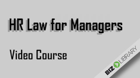 HR Law for Managers (SVL_102322)