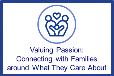 May-June: Valuing Passion: Connecting with Families Around What They Care About