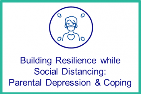 August: Building Resilience while Social Distancing: Parental Depression & Coping
