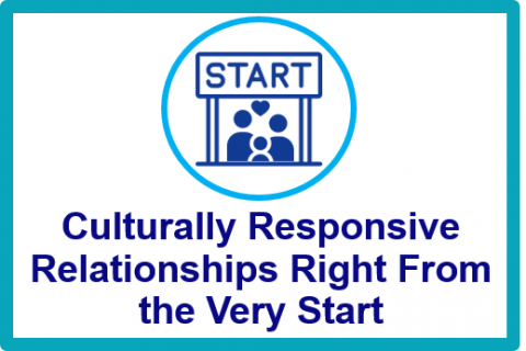 June 2021.Culturally Responsive Relationships Right From the Very Start
