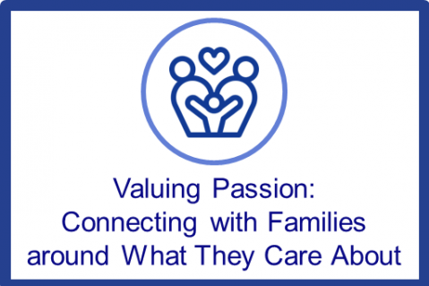 Nov.-Dec.2021.Valuing Passion: Connecting with Families Around What They Care About