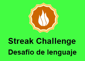 Streak Challenge - Desafío de Lenguaje