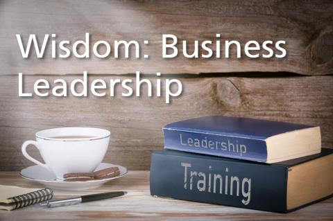 Wisdom: Business Leadership CDE (CDE-BUS)