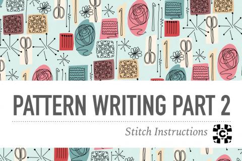 Pattern Writing Part 2: Stitch Instructions