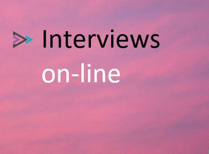 Interviews on-line (intv)