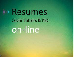 Resumes on-line (cv)