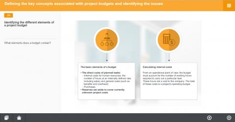 Etablir le budget du projet. Part. A (MH093-A)