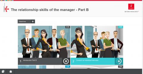 Les compétences relationnelles du manager. Part.B (MH144-B)