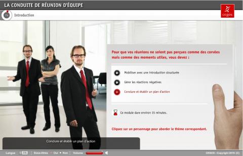 La conduite de réunion d'équipe (MF001)