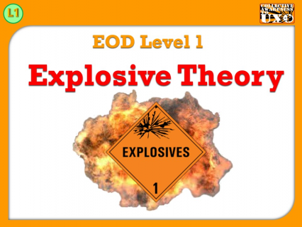 L1-01 - Explosive Theory