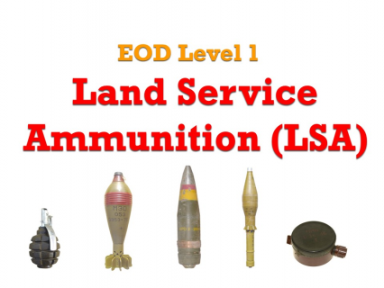 L1-02 - Land Service Ammunition (LSA)
