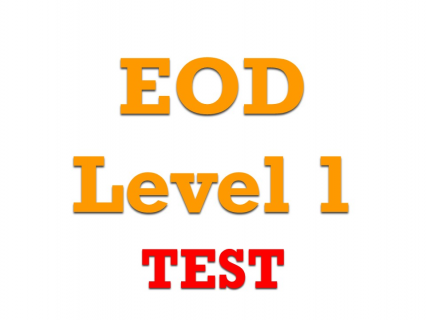 L1-00 - EOD level 1 TEST