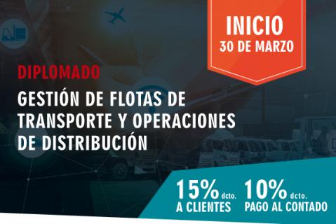 Diplomado en Gestión de Flotas de Transporte y Operaciones de Distribución (DT-070418)