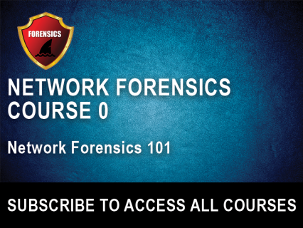 NF Section 0: Network Forensics 101 (NFW-0)