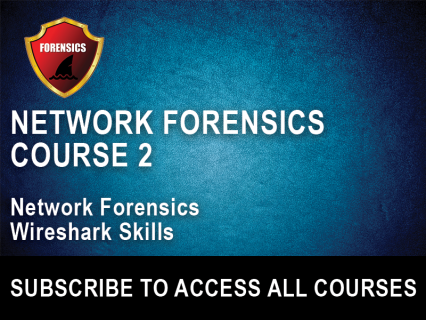 NF Section 2: Network Forensics Wireshark Skills (NFW-2)