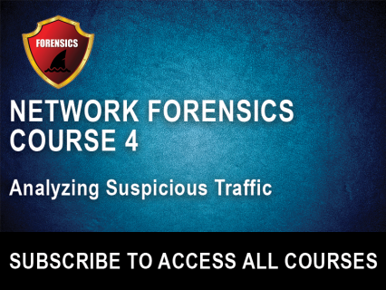 NF Section 4: Analyzing Suspicious Traffic (NFW-4)