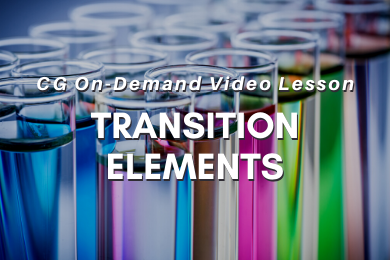 I03. Transition Elements