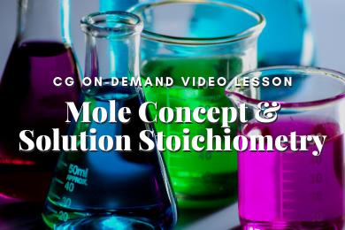 P01.Mole Concept and Solution Stoichiometry