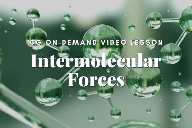 P05. Intermolecular Forces