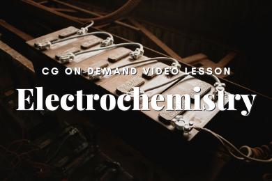 P13. Electrochemistry