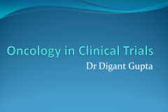 Oncology in Clinical Trials