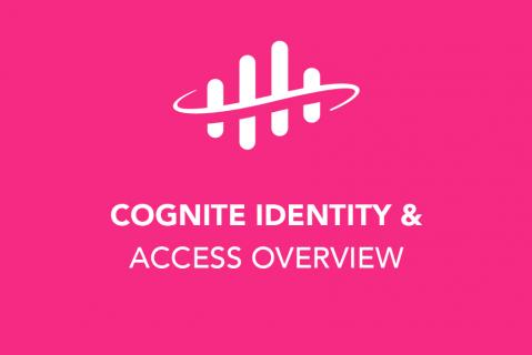 Access management in Cognite Data Fusion (202)