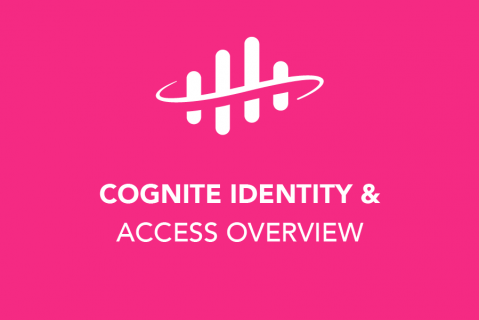 Cognite Identity and Access Overview (202)