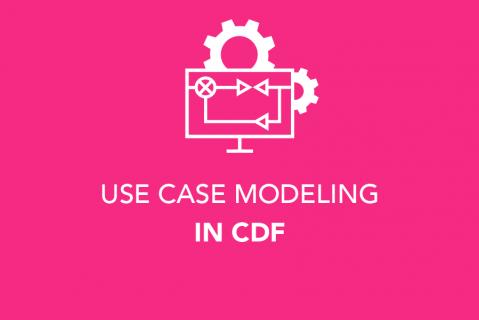 Use Case Modelling in CDF (104)