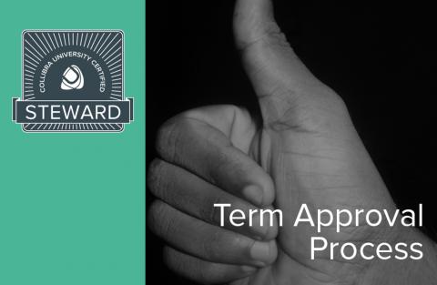 Term Approval Process (02-steward-630)