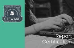 Report Certification (02-steward-001)