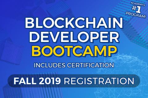 Blockchain Developer Bootcamp Registration: Fall 2019 (BDB-2019)