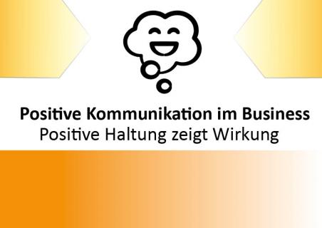 Positive Haltung zeigt Wirkung (WK0001)