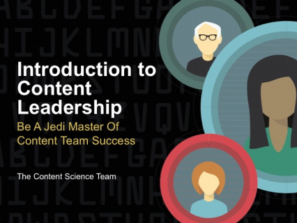 Introduction to Content Leadership