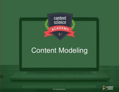 Content Modeling Essentials