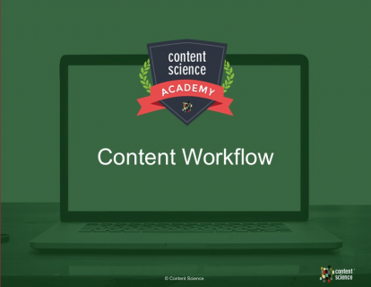 Automating Content Workflow