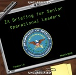 Cybersecurity Briefing for Senior Operational Leaders (DISA-004)