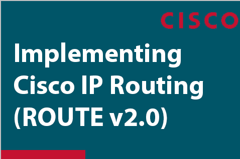 Implementing Cisco IP Routing - ROUTE (300-101)