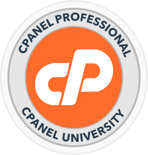 Certified cPanel Profesional by cPanel