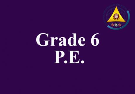 Grade 6 P.E.