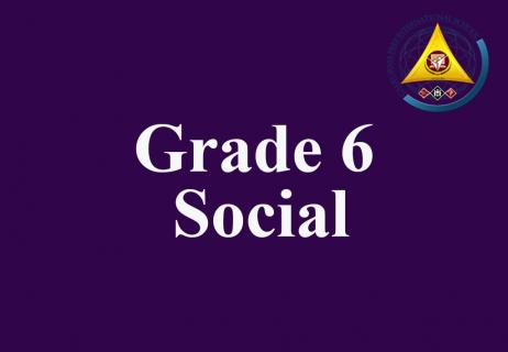 Grade 6 Social