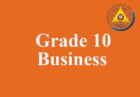 Grade 10 Business