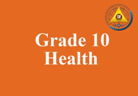 Grade 10 Health