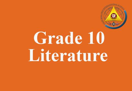 Grade 10 Literature